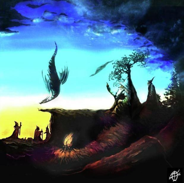 Những bức tranh gây ảo giác điên đảo: Dù nhìn dọc hay ngang, người xem vẫn bối rối - Ảnh 7.