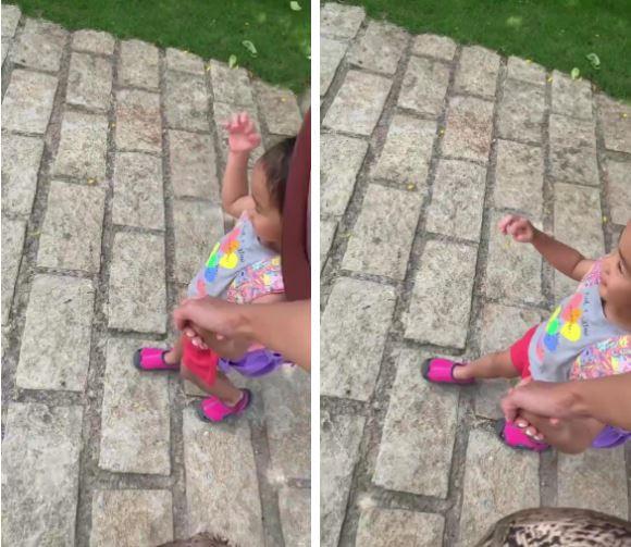 Tăng Thanh Hà dắt con gái đi học, vô tình làm lộ gương mặt cô bé vì sự cố bất ngờ - Ảnh 2.