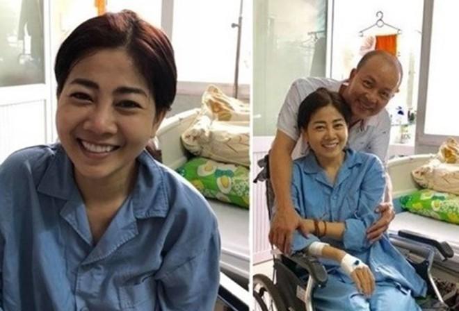 Diễn viên Mai Phương sụp cân, phải trợ thở bằng máy sau khi nhập viện - Ảnh 1.