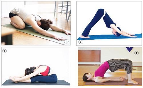 4 tư thế yoga trị đau nửa đầu hiệu quả