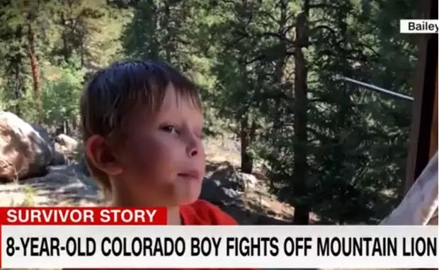 Sống sót thần kỳ sau khi bị báo sư tử tấn công, cậu bé 8 tuổi chia sẻ cách tự vệ khiến ai nấy đều bất ngờ - Ảnh 2.