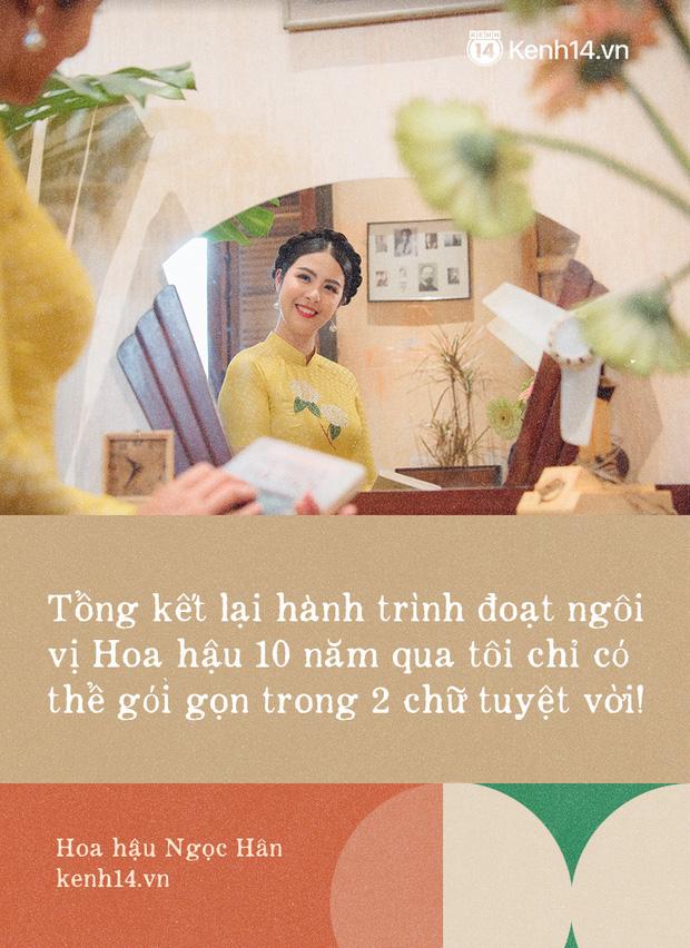 Hoa hậu Ngọc Hân nhìn lại một thập kỷ đăng quang, lần đầu lên tiếng xác nhận về danh tính bạn trai và chuyện đám cưới - Ảnh 2.
