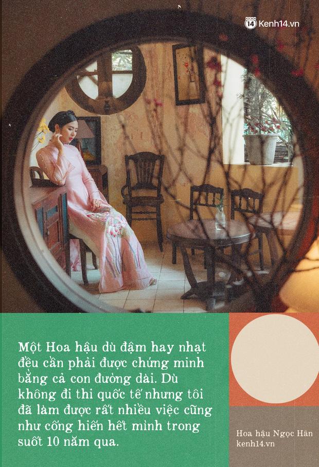 Hoa hậu Ngọc Hân nhìn lại một thập kỷ đăng quang, lần đầu lên tiếng xác nhận về danh tính bạn trai và chuyện đám cưới - Ảnh 4.