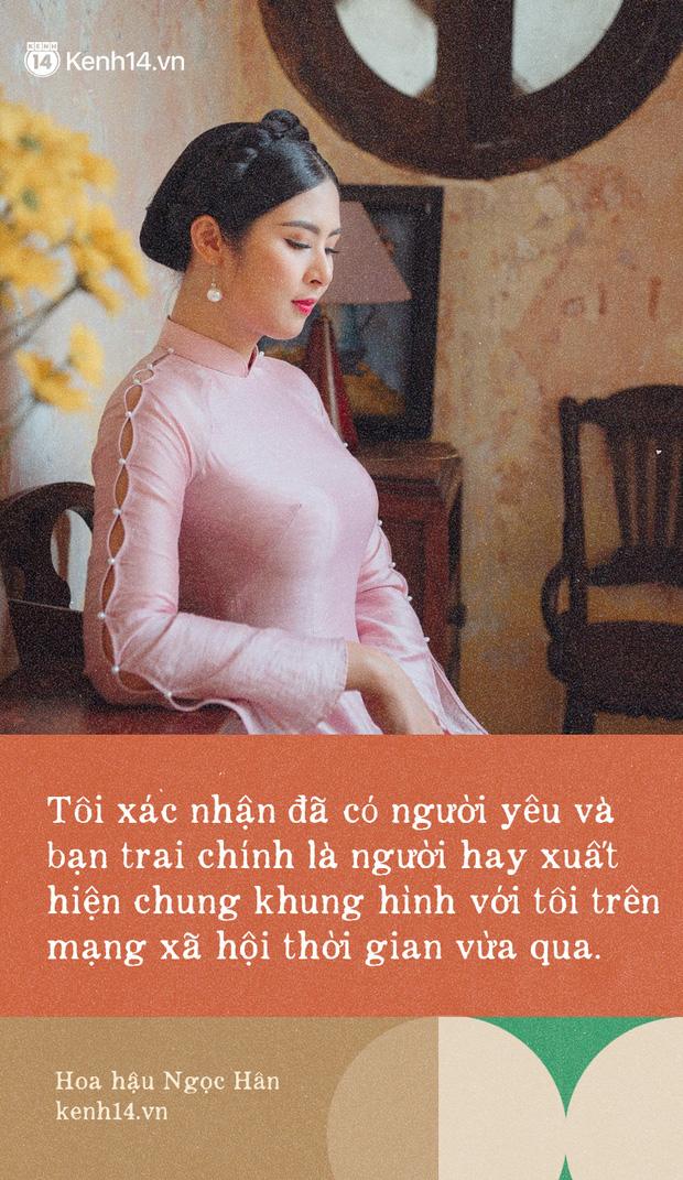 Hoa hậu Ngọc Hân nhìn lại một thập kỷ đăng quang, lần đầu lên tiếng xác nhận về danh tính bạn trai và chuyện đám cưới - Ảnh 6.