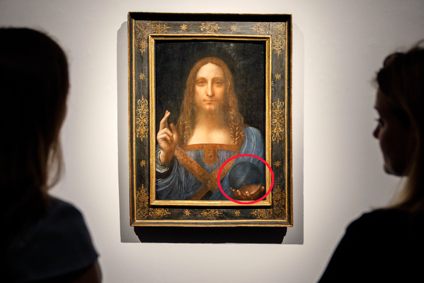 Bí ẩn từ một trong những bức tranh đắt tiền bậc nhất lịch sử của thiên tài Leonardo da Vinci cuối cùng đã có lời giải - Ảnh 1.