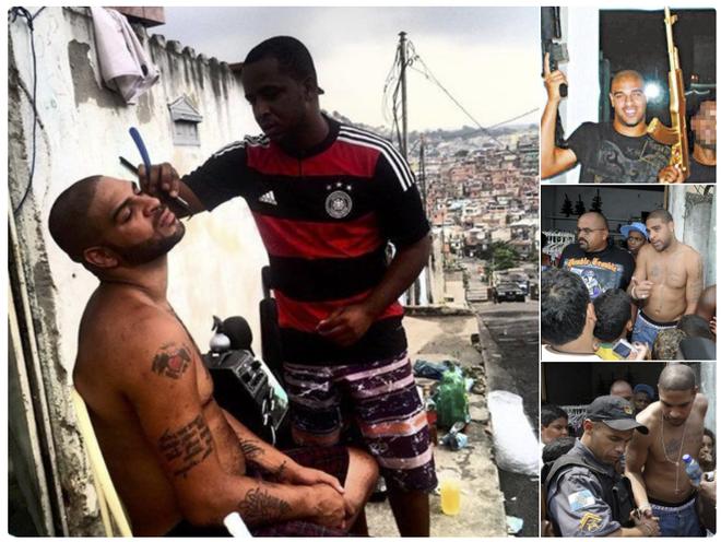 """Sau Ronaldinho, đến lượt Hoàng đế Adriano bán biệt thự, máy bay, du thuyền về quê """"đấu súng"""" - Ảnh 4."""