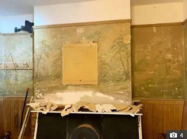Bí mật bất ngờ về bức tường trong ngôi nhà cổ - Ảnh 2.