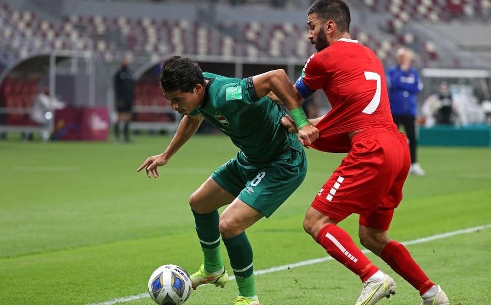 Kết quả Iraq vs Lebanon: Chơi lăn xả trước đội bét bảng, Lebanon khiến thầy trò HLV Park Hang-seo tạm yên lòng