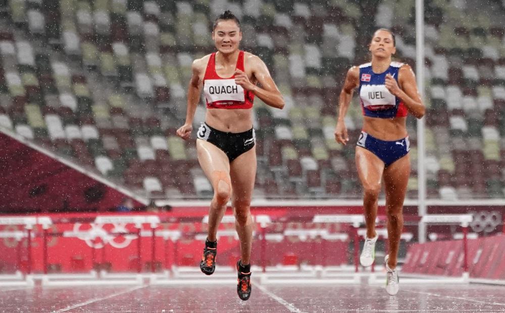 Quách Thị Lan dừng bước trước ngưỡng cửa lịch sử, chia tay Olympic sau vòng bán kết