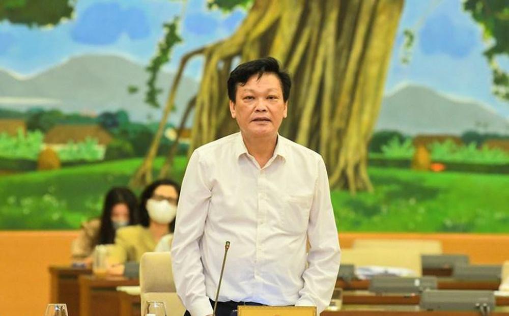Thứ trưởng Bộ Nội vụ Nguyễn Duy Thăng tại phiên họp