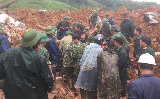 Danh sá.ch 22 cán bộ, chiến sĩ m.ất t.ích do sạt lở đặc biệt nghiêm trọng tại Quảng Trị