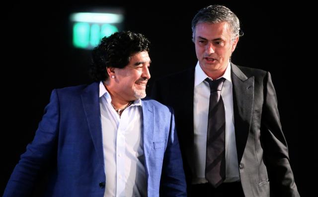Mourinho tri ân Maradona, tiết lộ câu
