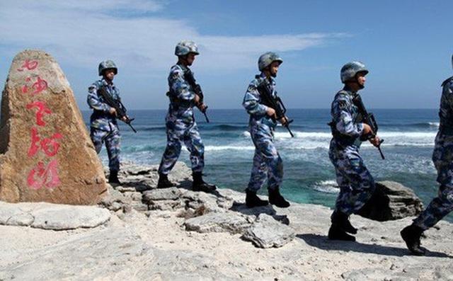 Chuyên gia quân sự vạch ý đồ tập trận của Trung Quốc ở biển Đông