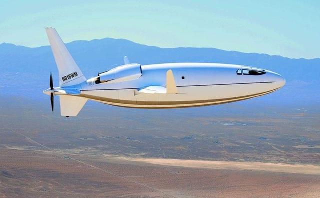 Mỹ ra mắt máy bay có hình dáng kỳ dị