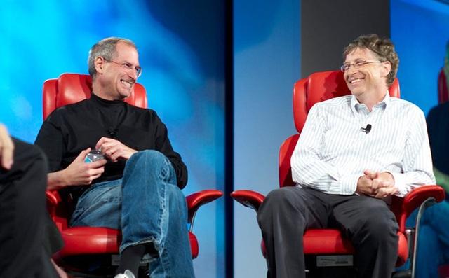 Steve Jobs và Bill Gates: Những tỷ phú thành công nhờ 'ăn cắp'