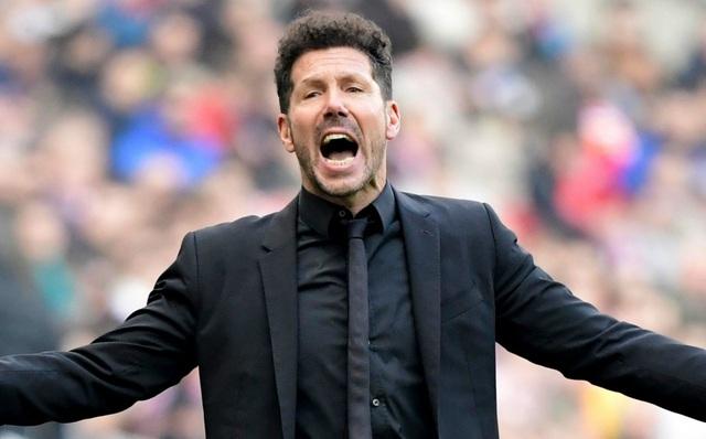 Atletico Madrid mong muốn cùng HLV Simeone tạo nên kỷ lục của bóng đá châu Âu