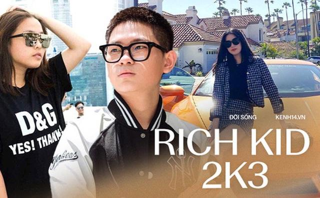 Điểm mặt loạt rich kid 2k3 'khuấy đảo' MXH: Thế hệ con nhà giàu mới đang lên ngôi