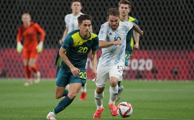 Dính thẻ đỏ tai hại, Argentina nhận kết cục thảm họa ở trận ra quân Olympic