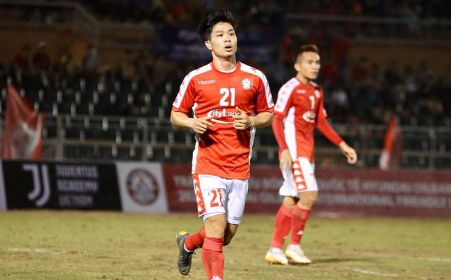 Công Phượng ra sân, TP.HCM thua cường địch từ Hàn Quốc