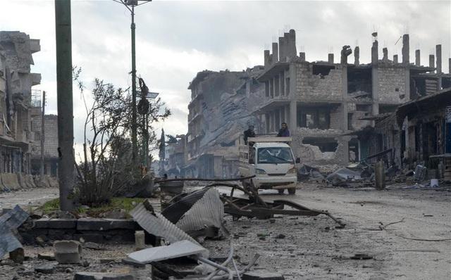 Thành phố ma ở Syria