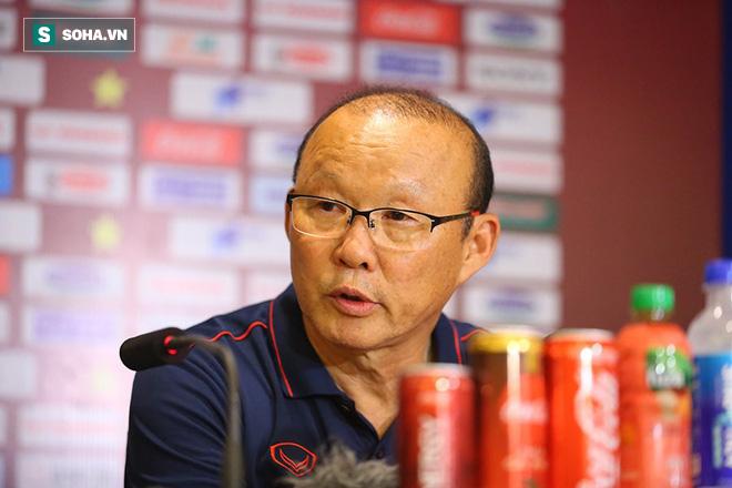 Sau lời cảm ơn học trò, thầy Park buông câu nói đùa về điều không hài lòng khi hạ Malaysia - Ảnh 1.