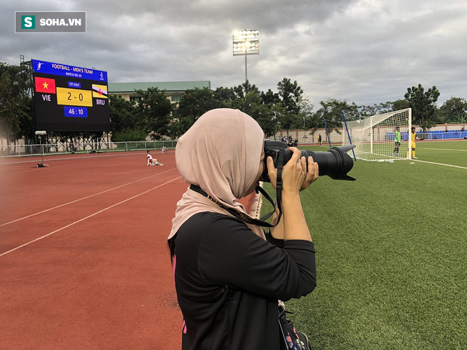 Nữ phóng viên Brunei: Việt Nam sẽ vượt Thái Lan để nhất bảng B rồi vào CK SEA Games - Ảnh 2.