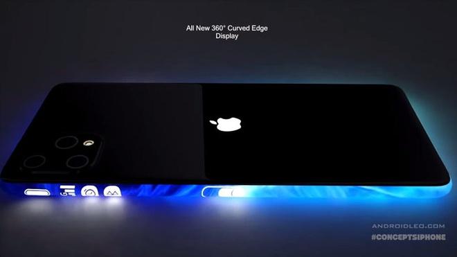 iPhone 12 Pro đẹp hút hồn với màn hình tràn cong 4 cạnh, 3 camera siêu to khổng lồ - Ảnh 2.