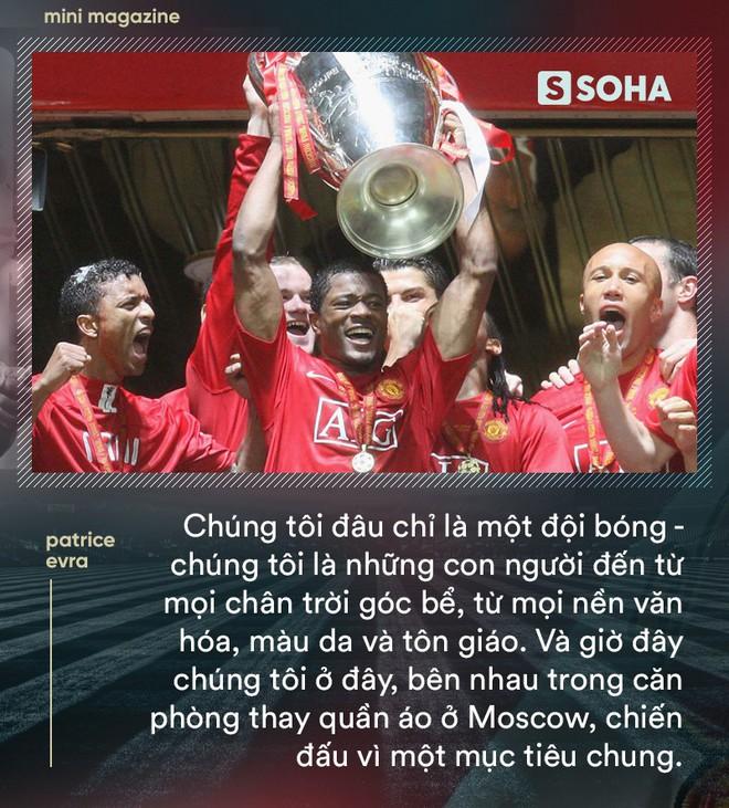 Patrice Evra: Lời sấm đêm vô địch Champions League của Sir Alex khiến Man United bất tử - Ảnh 12.