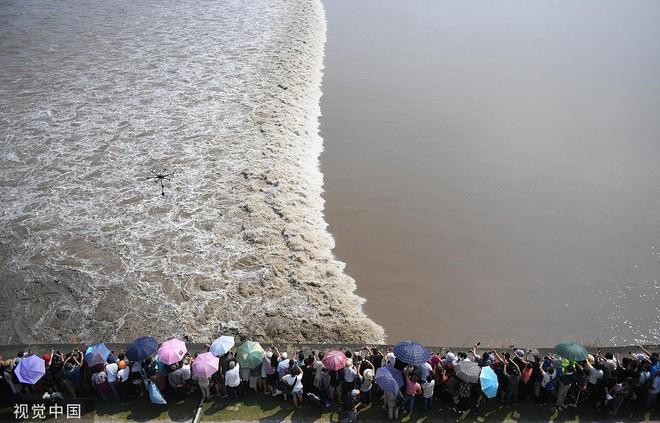 24h qua ảnh: Du khách xem thủy triều trên sông Tiền Đường - Ảnh 3.