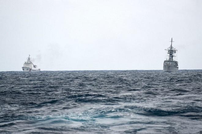 Indonesia công bố hình ảnh chi tiết cuộc đối đầu với tàu Trung Quốc trên vùng biển Natuna - Ảnh 2.