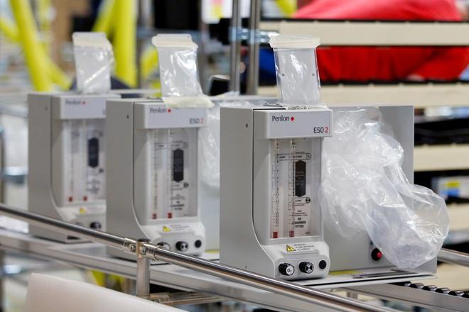 Sững sờ với cảnh lắp ráp máy thở trong xưởng máy bay Airbus - Ảnh 7.