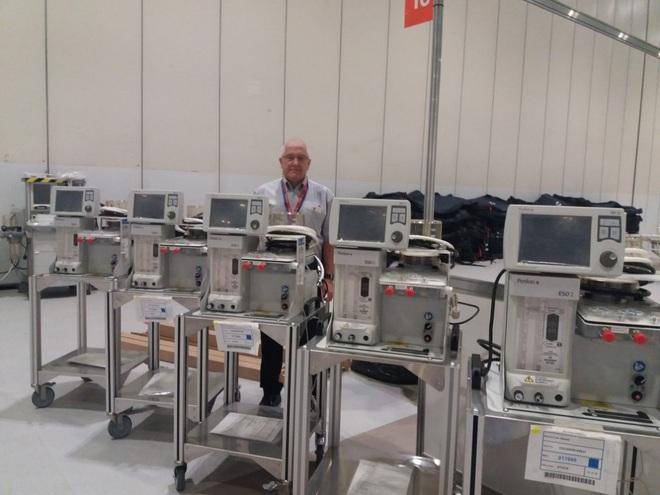 Sững sờ với cảnh lắp ráp máy thở trong xưởng máy bay Airbus - Ảnh 8.