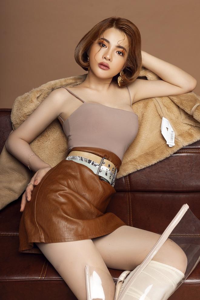 Chi Pu không sợ bị Ngọc Trinh lấn át khi đóng MV chung - Ảnh 3.