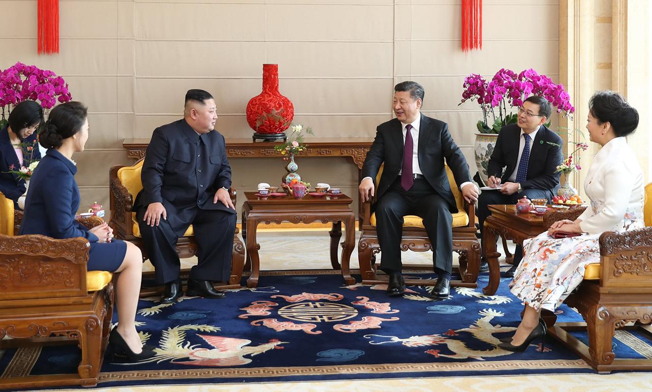 Ông Kim Jong-un thăm Trung Quốc lần thứ tư