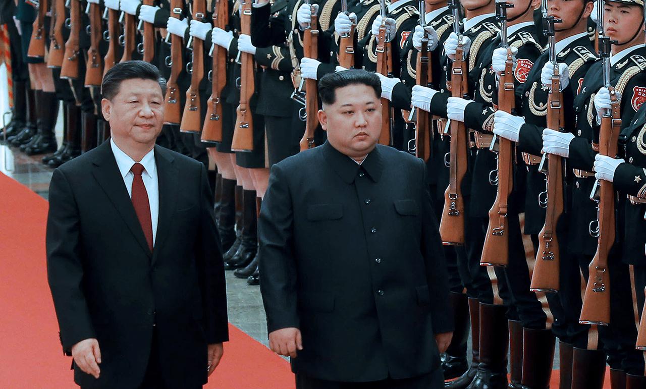 Ông Kim Jong-un thăm Trung Quốc lần thứ nhất